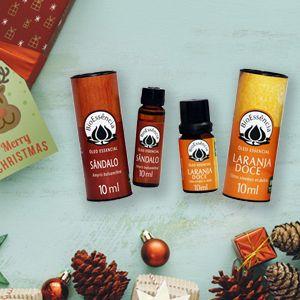 Fim de ano e Natal: conte com os óleos essenciais!