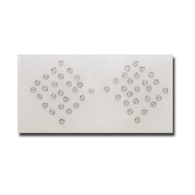 Agulha Auricular sem Micropore 50 unidades - Original