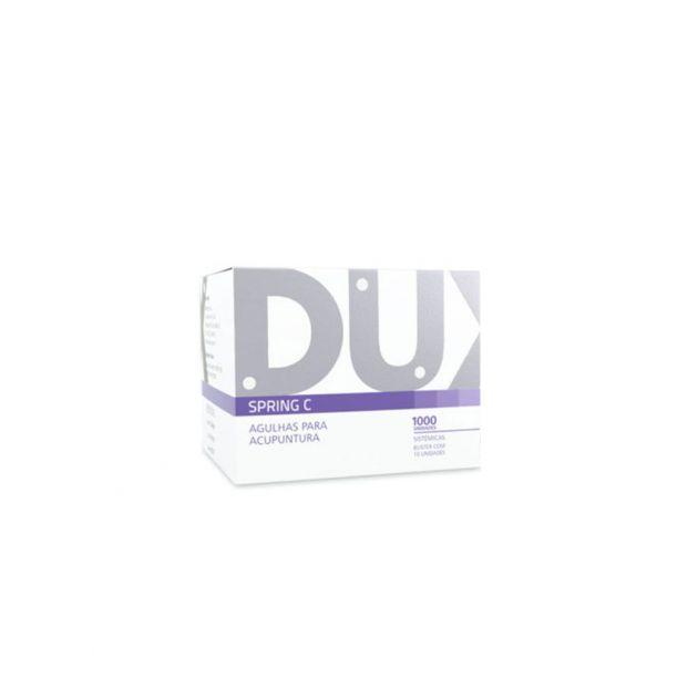 Agulha Sistêmica Spring C 0,25x15mm DUX - caixa 1000un