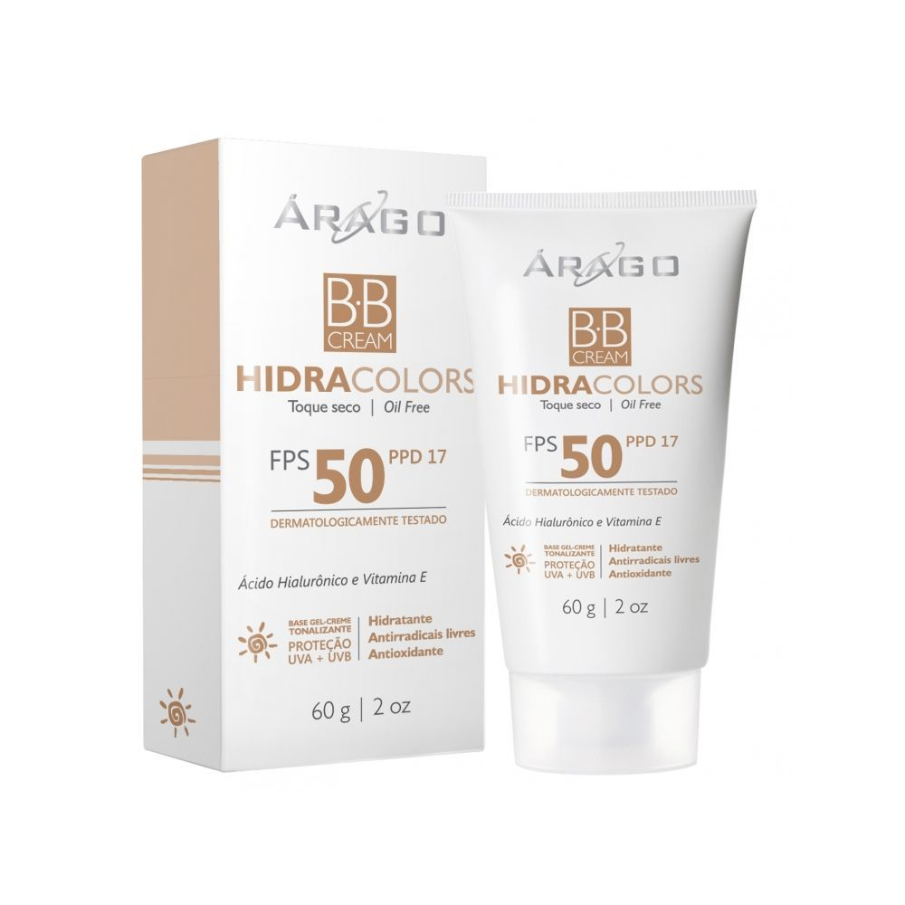BB Cream HidraColors FPS 50 - 60g - Arago