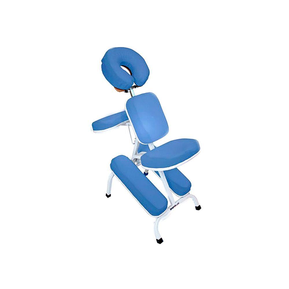 Cadeira Quick Massage com estrutura branca - Legno