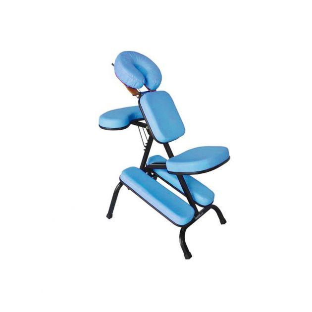Cadeira Quick Massage com estrutura preta - Legno