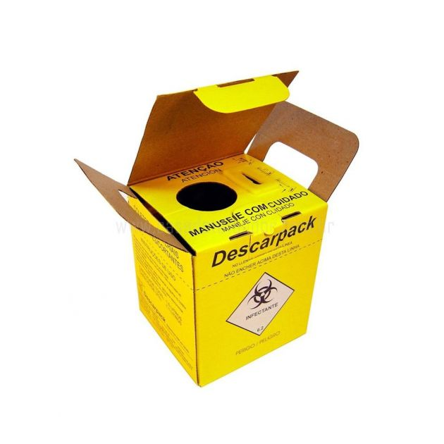 Coletor Perfurocortante Descarpack - 3L