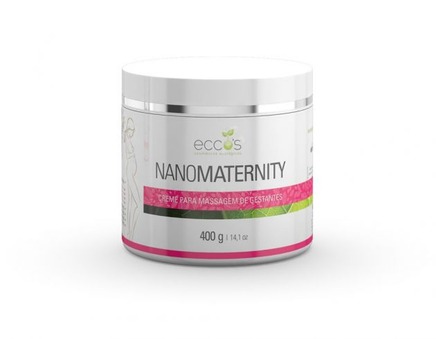 Creme para gestante - Nanomaternity 400g Eccos