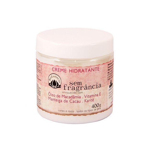 Creme Hidratante s/ Fragrância 400g - BioEssência