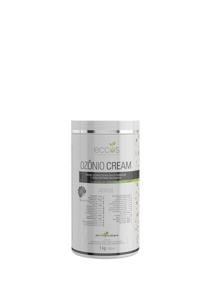 Creme para Massagem Ozônio Cream 1kg Eccos Cosméticos
