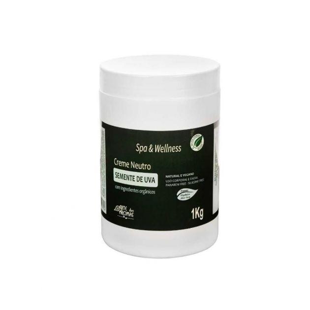 Creme Neutro Semente de Uva Vegano 1kg - Arte dos Aromas