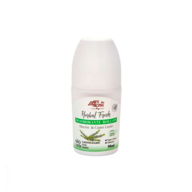 Desodorante Roll On Vegano 50ml - Arte dos Aromas