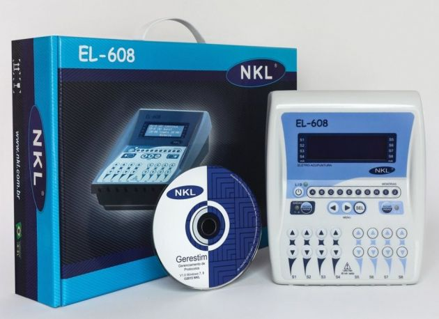 Eletroestimulador Digital para Acupuntura - EL 608 NKL