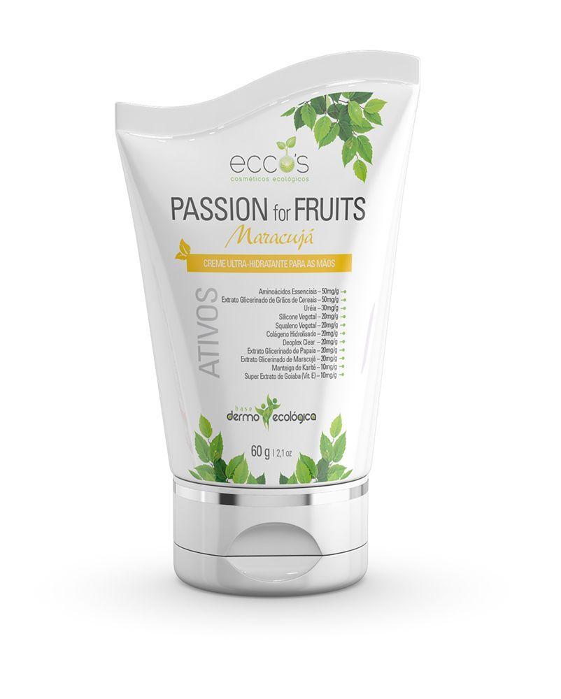 Hidratante para as Mãos Passion for Fruits 60g Eccos