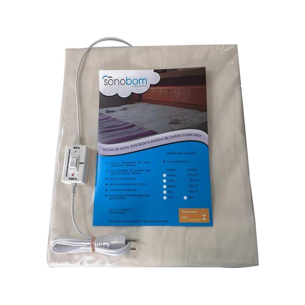 Lençol Térmico Solteiro 0,77x1,65 - Sonobom