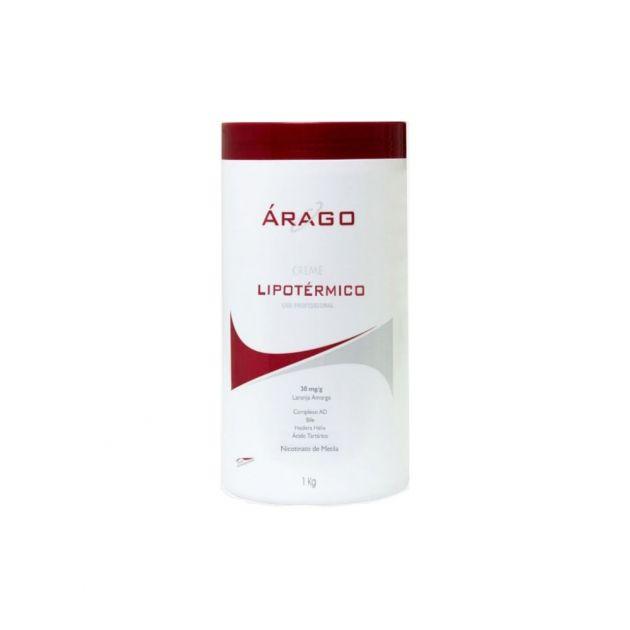 Creme Lipotérmico Hiperemiante Redutor 1 Kg - Arago