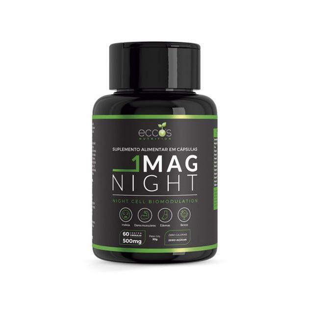 Mag Night 500mg 60Caps Eccos Nutrtion