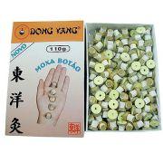 Moxa Botão para Acupuntura com Adesivo 110g - Dong Yang