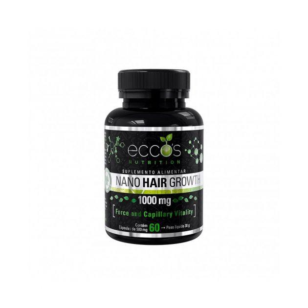 Nano Hair Growth 60 Caps 30g Eccos Nutrtion