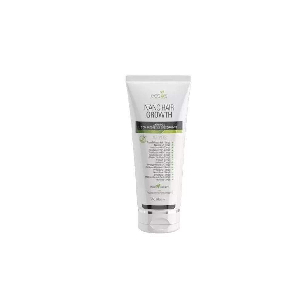 Shampoo Nano Hair Growth 250ml - Eccos