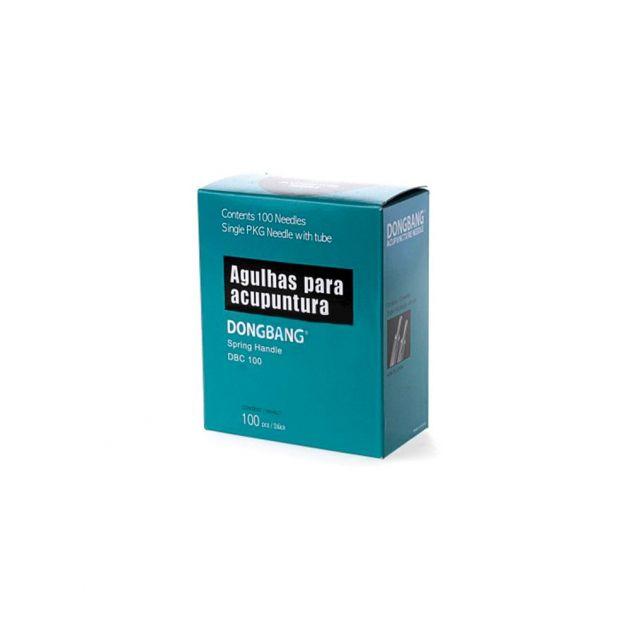 Agulha Sistêmica Individual 100un 0,25x40mm- Dong Bang (DBC)